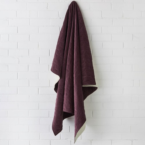 Linen House Kew Velvet Throw