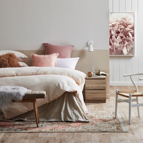 Linen House Natural Nimes Linen Quilt Cover Set