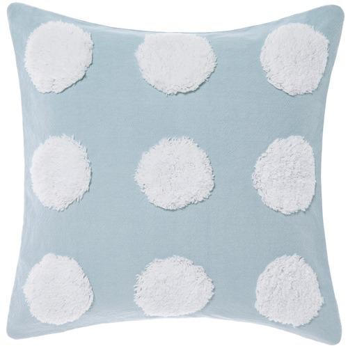 Linen House Blue & White Haze Cotton Cushion