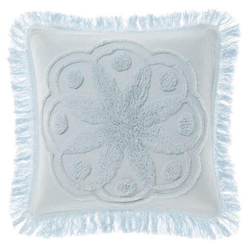 Linen House Blue Manisha Cotton Cushion