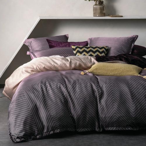 Linen House Chevron Filament Rectangular Cushion