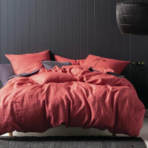 Linen House Tailored Nimes Linen Cushion