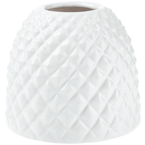 Linen House White Tropical Vase