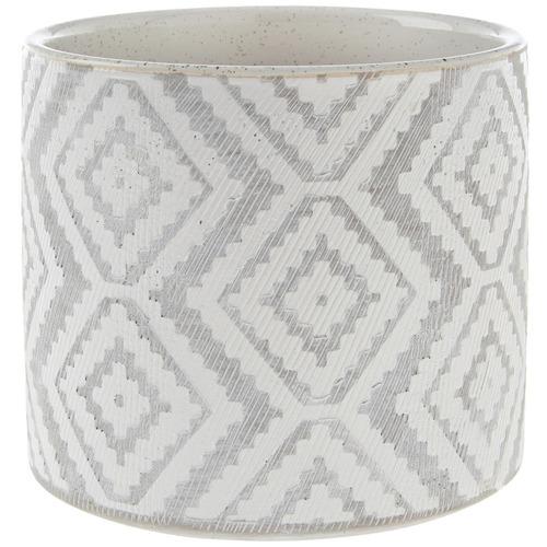 Linen House Danica Stone Planter Pot