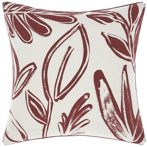 Linen House Rust Claude Cotton Cushion