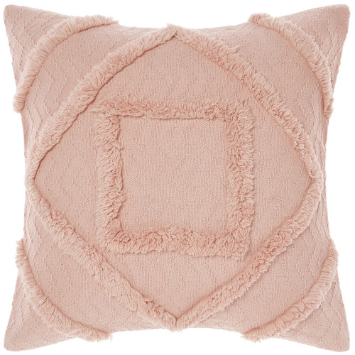Linen House Peach Adalyn Cotton Cushion