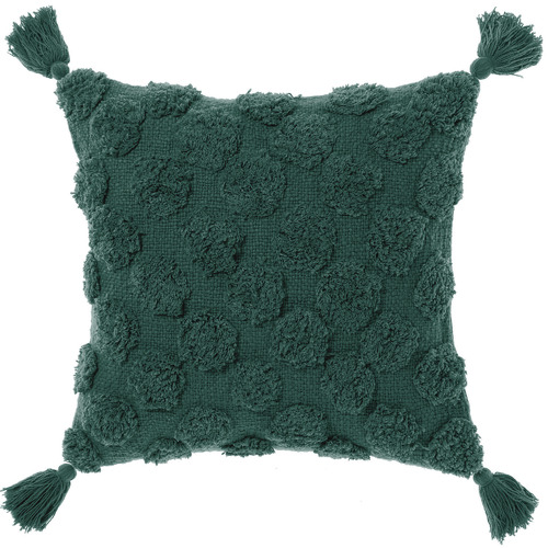 Linen House Tasselled Marant Cotton Cushion