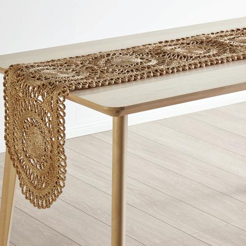 Linen House Rustic Mayur Jute Table Runner