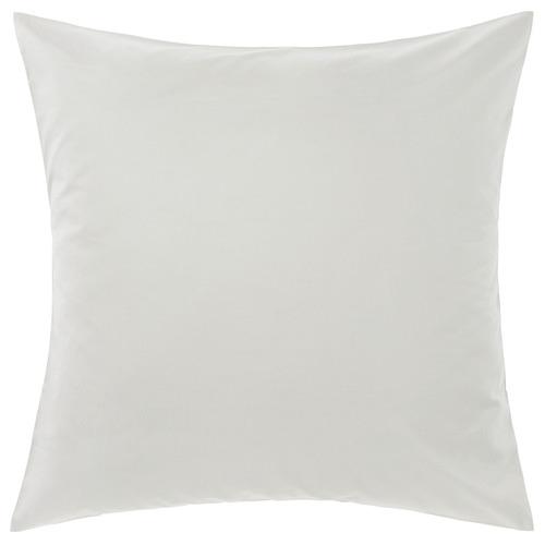 Linen House Grey Augusta Cotton European Pillowcase