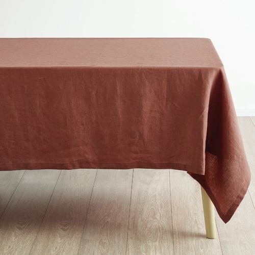 Linen House Rust Nimes Linen Table Cloth