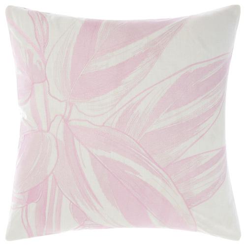 Linen House Mint Glasshouse Cotton Cushion