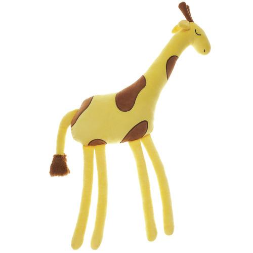 Linen House Yellow Jafari Giraffe Novelty Cushion