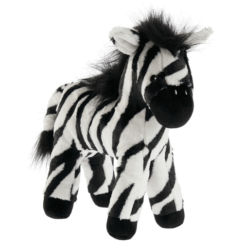 Linen House Black & White Zazu Zebra Novelty Cushion