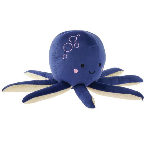 Linen House Purple Ophelia Octopus Novelty Cushion