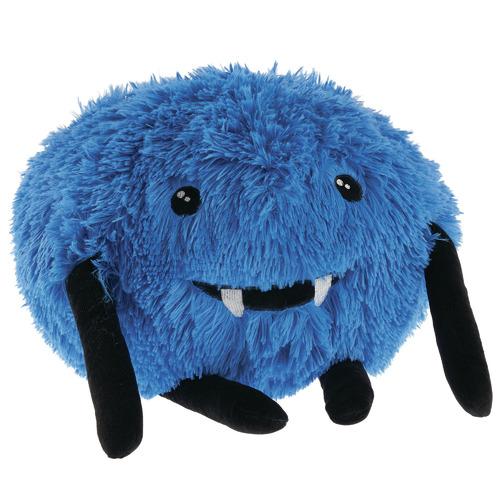 Linen House Blue Fanged Felix Novelty Cushion