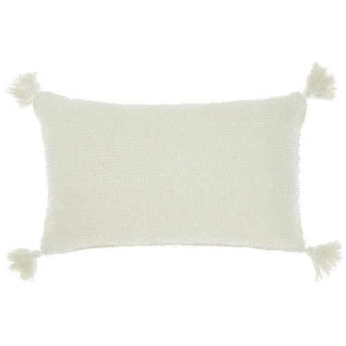 Linen House Ivory Aurora Cotton Cushion