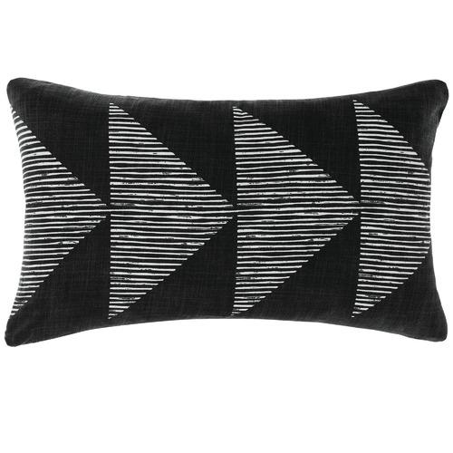 Linen House Geometric Pani Reversible Cotton Cushion
