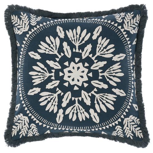 Linen House Ivory Jolanda Cotton Cushion