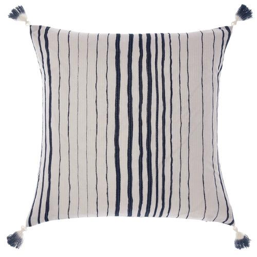Linen House Indigo Nighttide Cotton Cushion