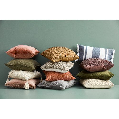 Linen House Pink Champagne Belmore Cushion