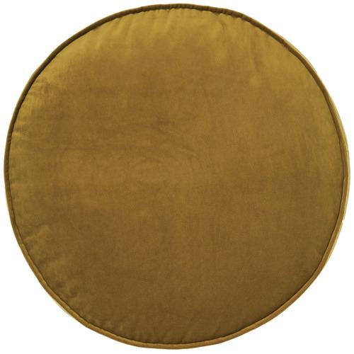 Linen House Toro Round Velvet Cushion