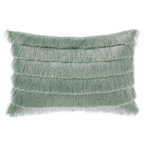 Linen House Green Anastacia Chai Cotton Cushion