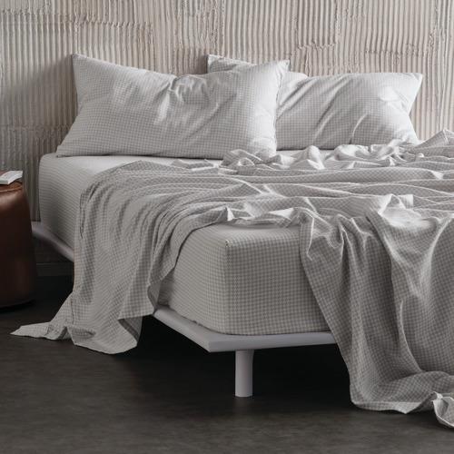 Linen House Silver Printed Flannelette, Linen House Bedding Canada