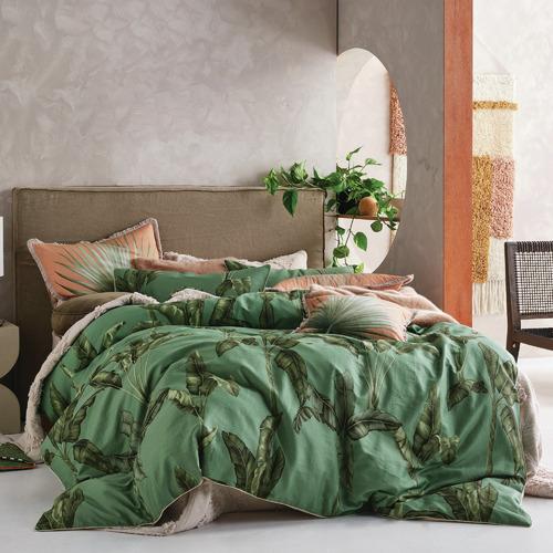 Livia Cotton Quilt Cover Set