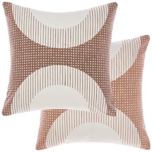 Linen House Marigold Solar Cotton Reversible Cushion
