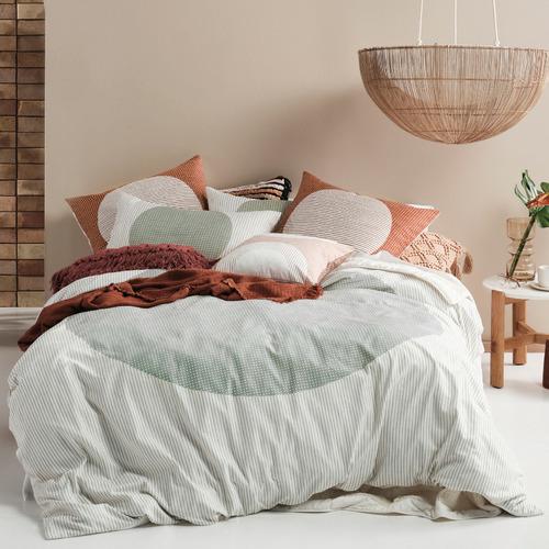 Stillwater Solar Cotton Quilt Cover Set
