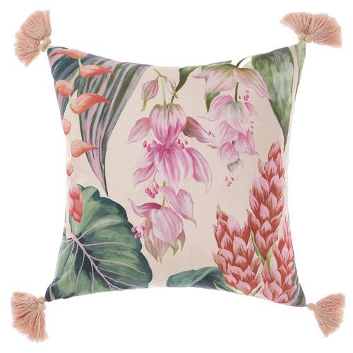 Linen House Multi-Coloured Jonie Cotton Cushion