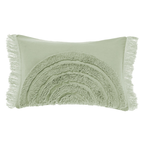 Linen House Tufted Daybreak Cotton Cushion