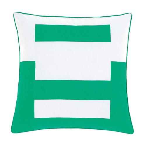 Deco City Living Green Triplicity Cushion