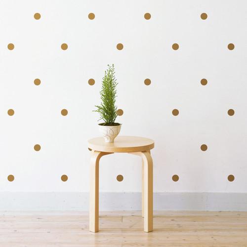 Little Sticker Boy Midi Polka Dots Wall Decal