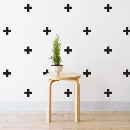 Mini Crosses Wall Decal
