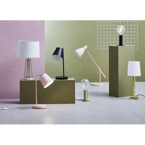 Luminea Black Sevres Metal Table Lamps