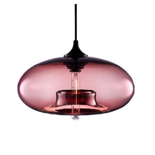 Lexi Lighting Mason Glass Pendant Light