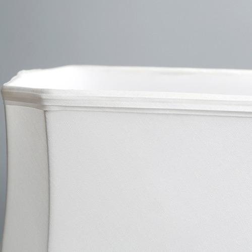 Luminea White & Blue Thiais Ceramic Table Lamp