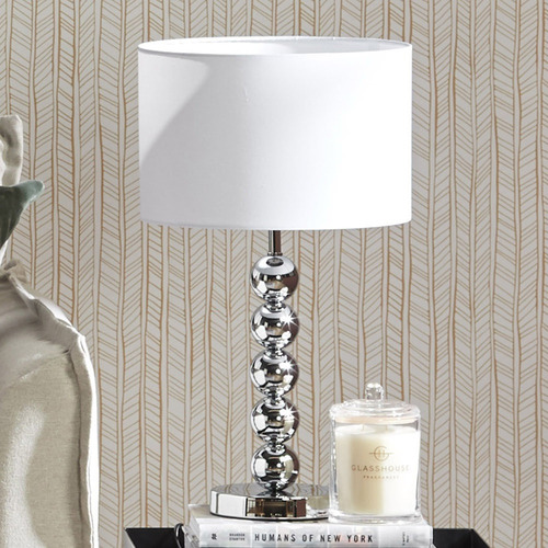Epinal Metal Mirror Table Lamp