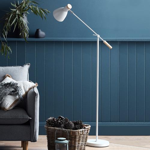 Luminea Scandinave 1 Light Metal Floor Lamp