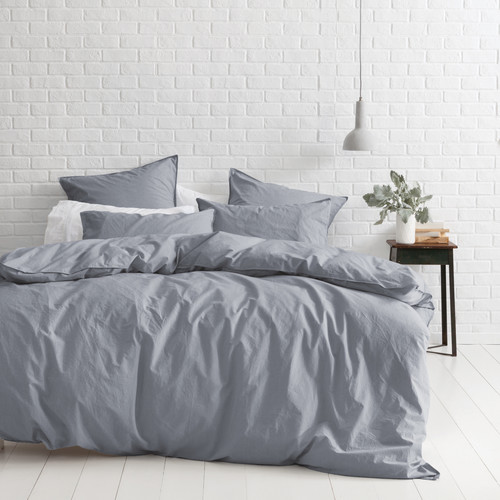 Canningvale Denim Melange Vintage Soft Wash Cotton Quilt Cover Set