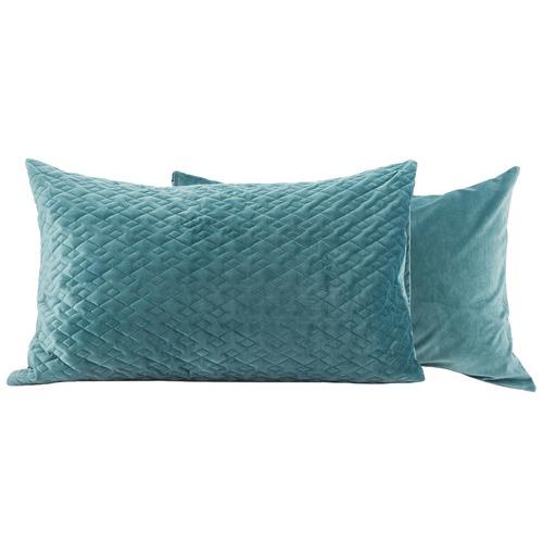 Canningvale Velluto Reversible Velvet Standard Pillowcases