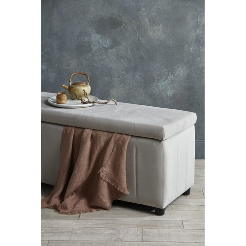 Aura By Tracie Ellis Vintage Wash Linen Throw