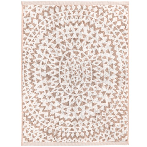 Aura By Tracie Ellis Inca Cotton Bath Mat