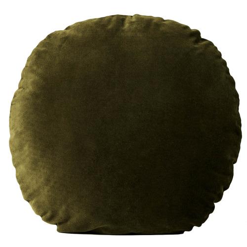 Luxury Velvet 55cm Round Cotton Cushion