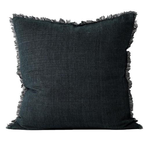 Vintage-Wash-Fringed-Linen-Cushion