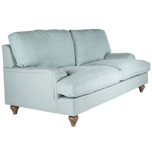 Huntington Lane Sea Mist Jasmine 2.5 Seater Linen Sofa