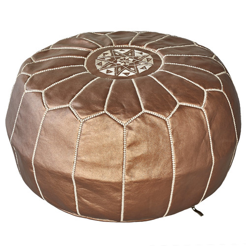 Niche Melbourne Bronze Marrakesh Traditional Stitch Ottoman Cover