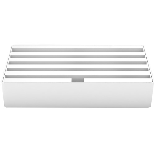 ALLDOCK Large White 6 Port USB Hub