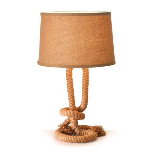 Hyde Park Home Sea Rope Table Lamp